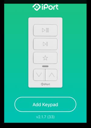 Панель управления Sonos - iPort xPress Audio Keypad