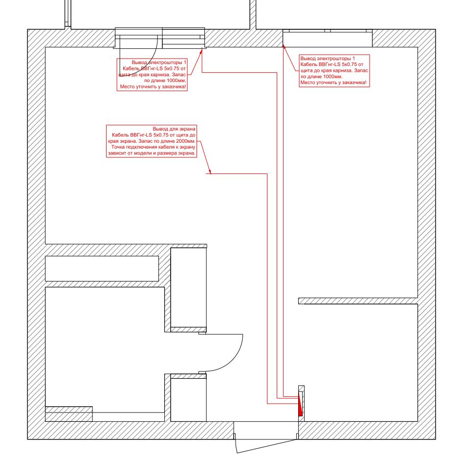 Умный Дом в квартире-студии на EasyHomePLC. Часть 2. Кабели.