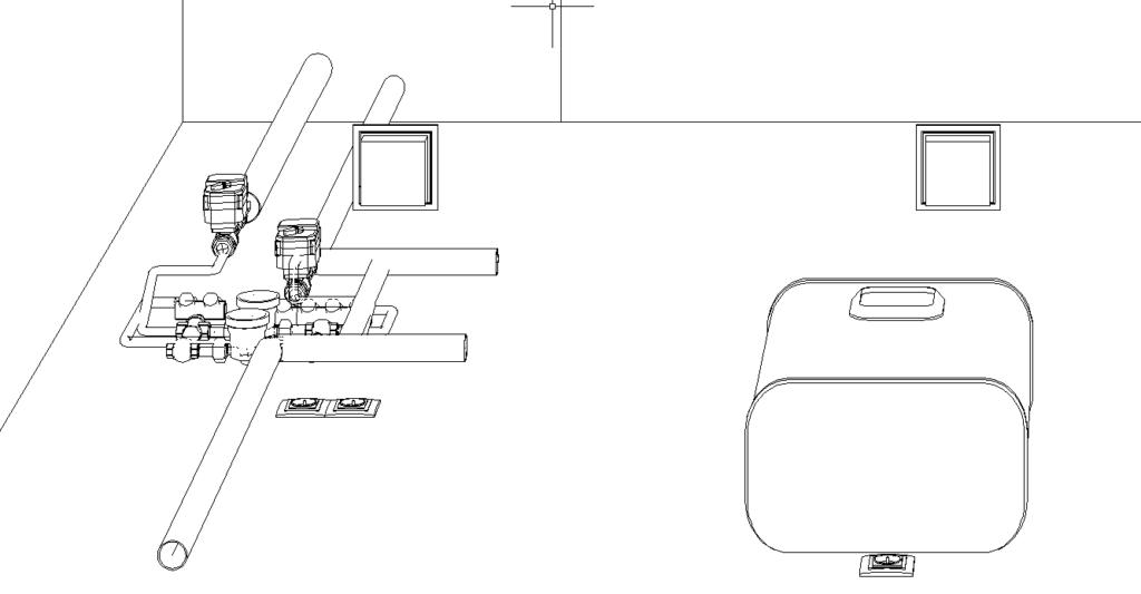 Умный Дом в квартире-студии на EasyHomePLC - ТЗ и подготовка чертежа