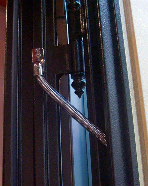 Открывание входной двери с системы Умный Дом