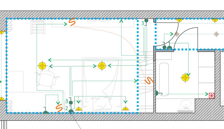 Ассоциации выключателей и света в EasyHome