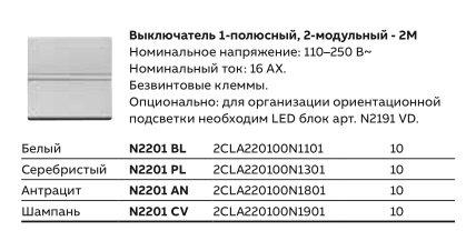 Выключатель ABB Zenit