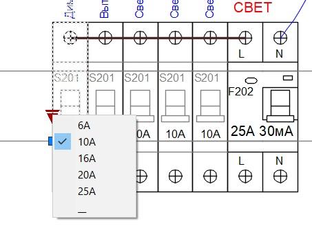 Динамические блоки в AutoCAD